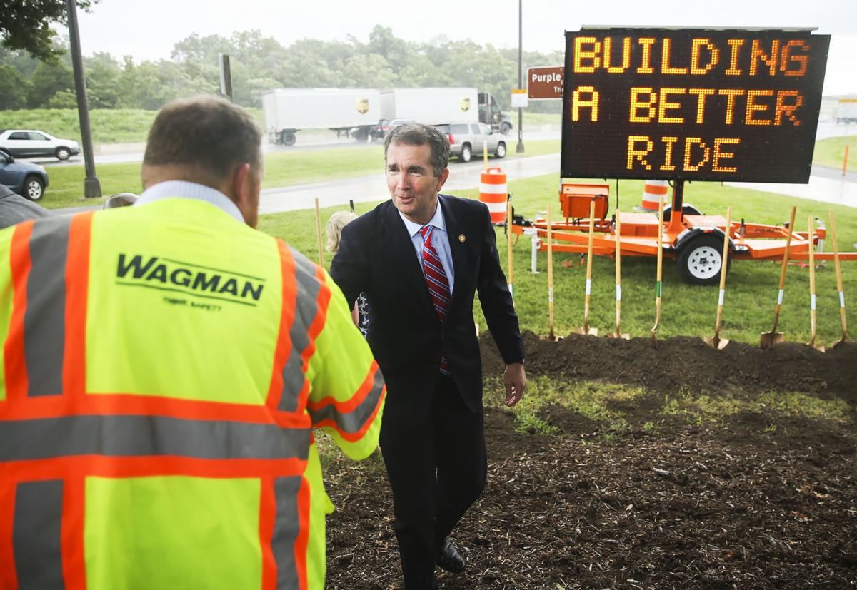Governor marks official start of I–95 Rappahannock River crossing project